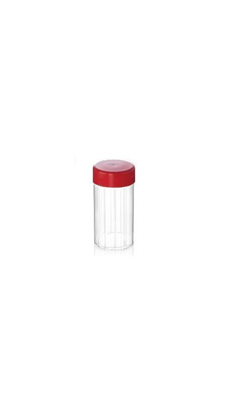 Vaso della medicina cinese dell'ANIMALE DOMESTICO (03) - Barattolo di Medicina Cinese in PET da 300 ml