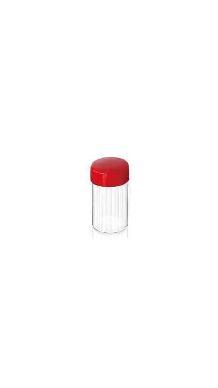 Vaso della medicina cinese dell'ANIMALE DOMESTICO (05) - Barattolo di medicina cinese in PET da 210 ml