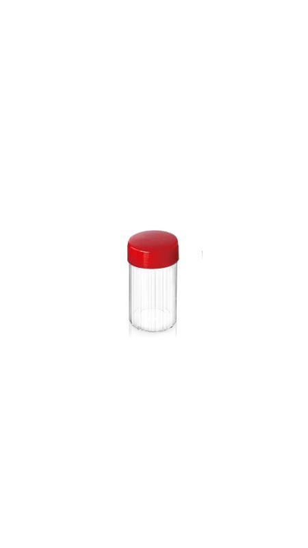 Vaso della medicina cinese dell'ANIMALE DOMESTICO (06) - Barattolo di Medicina Cinese in PET da 200 ml