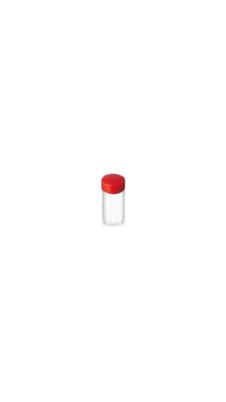 HAUSTIER chinesische Medizin-Glas (10) - 35 ml PET-Glas für chinesische Medizin