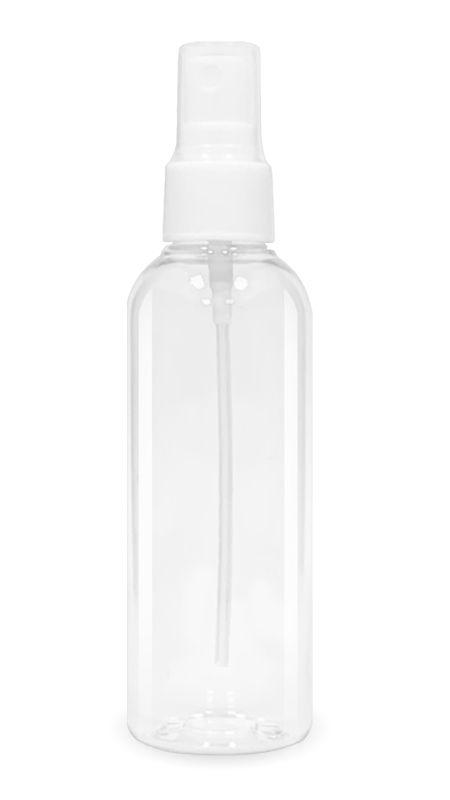 PET-Seria de dezinfectare a mâinilor (20-410-100-Limitată) - Flacon PET 100 ml spray pulverizator tip 20/410