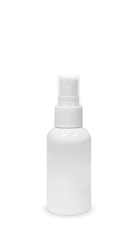 Seria PET-Sanitizer pentru mâini (20-410-60) - Flacon PET 60 ml spray pulverizator