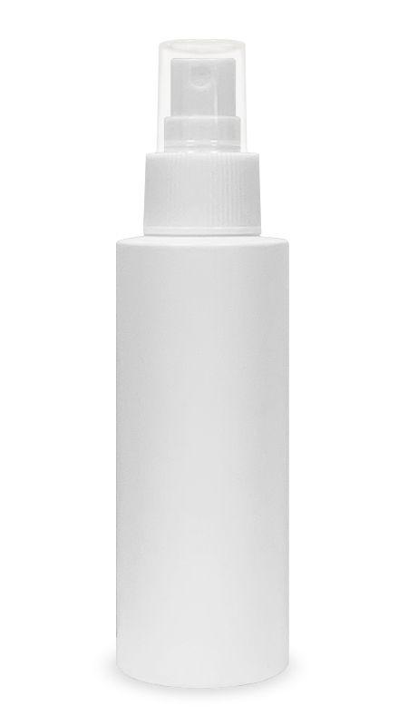 Seria PET-Sanitizer pentru mâini (HDPE-DE-100) - Flacon tip cilindru HDPE Mist Sprayer de 100 ml