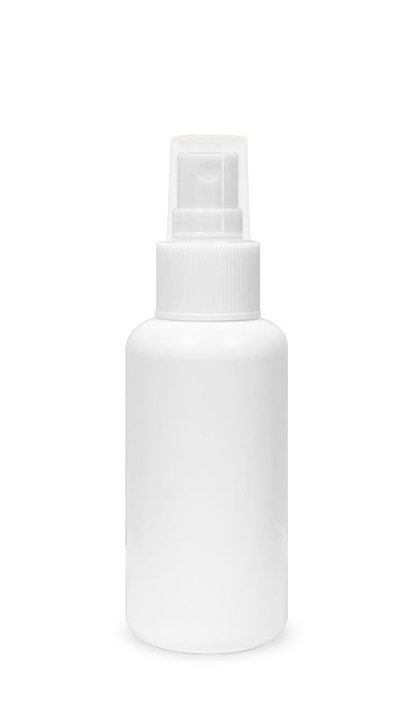 Seria PET-Sanitizer pentru mâini (HDPE-S-100) - Flacon tip bullet HDPE Mist Sprayer de 100 ml