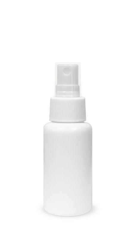 Seria PET-Sanitizer pentru mâini (HDPE-S-60) - Flacon de 60 ml HDPE Mist Sprayer