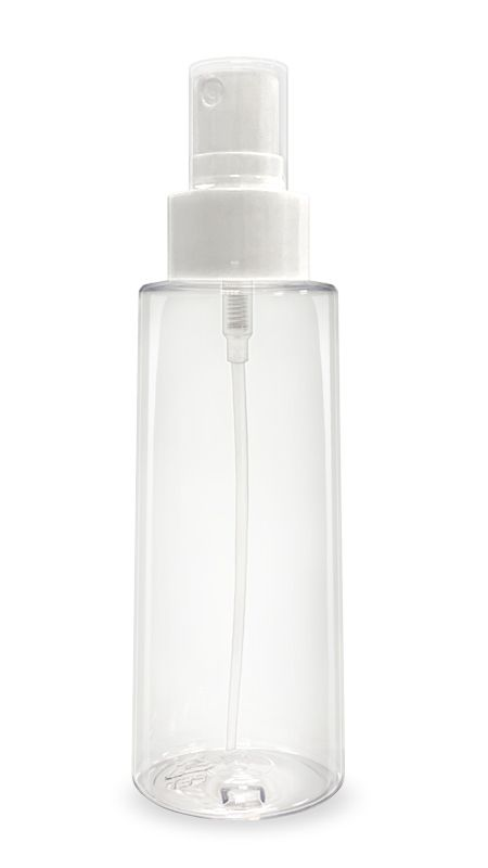 PET-Hand-Sanitizer-Series (YS-24-410-100) - 100 ml PET Mist Sprayer Conical shape