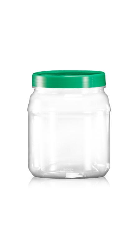 Sonstiges PET Weithalsglas (C1030) - 1130 ml PET Runddose
