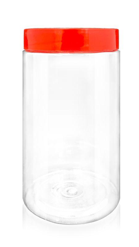 Andere PET-Flaschen (A1015) - 1750 ml PET Keksdose mit Zertifizierung FSSC, HACCP, ISO22000, IMS, BV