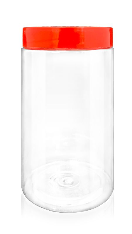 Other PET Bottles (A1015) - 1750 ml PET Cookie Jar with Certification FSSC, HACCP, ISO22000, IMS, BV