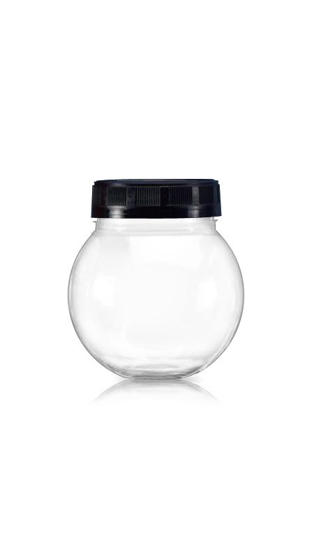 PET 63mm Series Wide Mouth Jar (B325) - Pet-Plastic-Bottles-Ball-B325