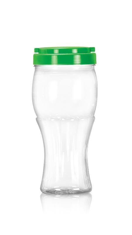 Баночка с широким горлом из ПЭТ серии 89 мм (D1032) - Pet-пластиковые бутылки-Кубок-D1032