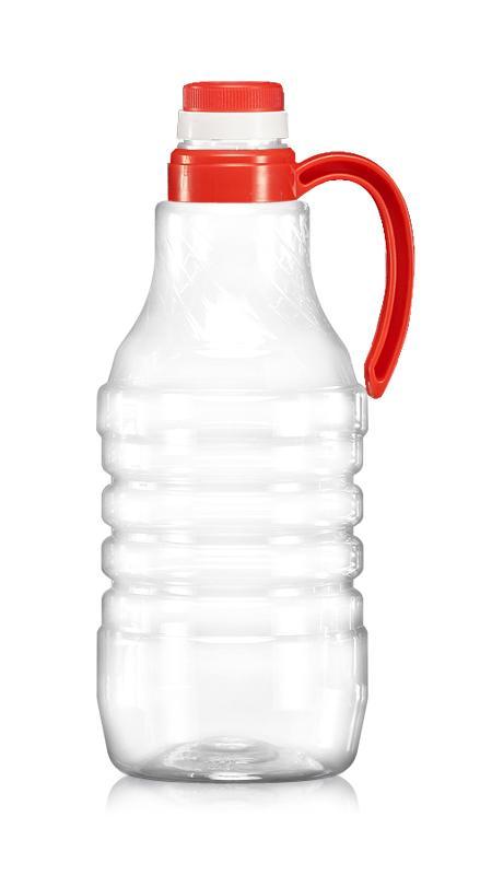 Alte sticle PET (H1600) - Sticlă de sos de soia PET de 1600 ml cu certificare FSSC, HACCP, ISO22000, IMS, BV