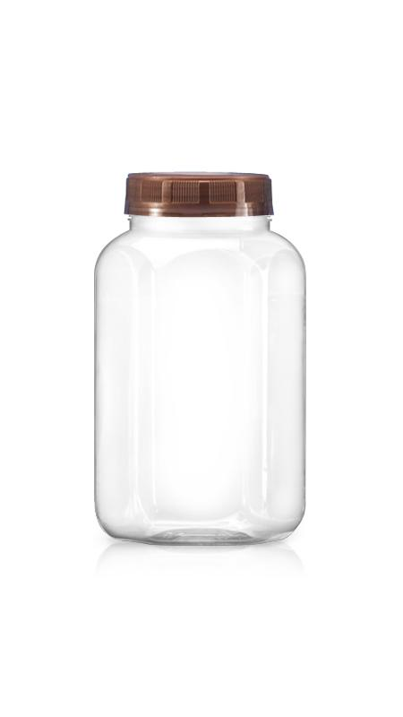 PET 63mm Series Wide Mouth Jar (B756)