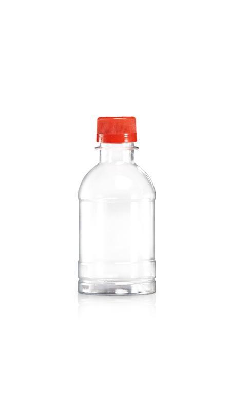 PET-Flaschen der 28-mm-Serie (W250N) - 250 ml reine PET-Wasserflasche mit Zertifizierung FSSC, HACCP, ISO22000, IMS, BV