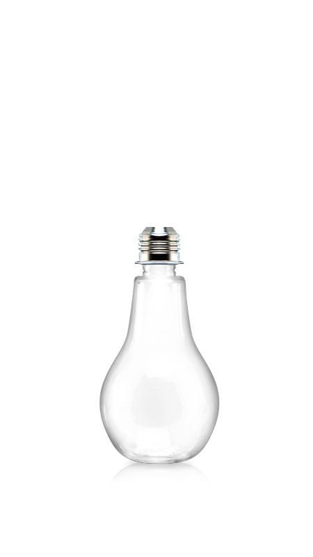 PET 28mm Series Bottles (LB300) - 310 ml Light Bulb Shape PET bottle for cool beverages packaging with Certification FSSC, HACCP, ISO22000, IMS, BV