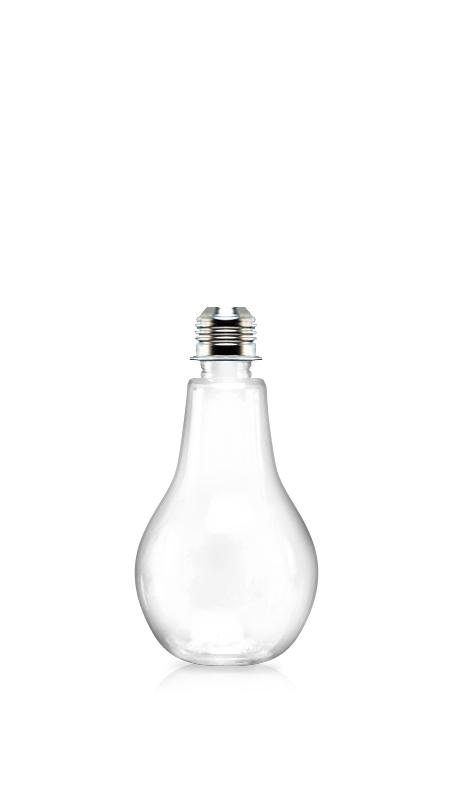 Sticle PET 28mm (LB360) - Flacon PET cu formă de bec de 370 ml pentru ambalarea băuturilor reci cu certificare FSSC, HACCP, ISO22000, IMS, BV