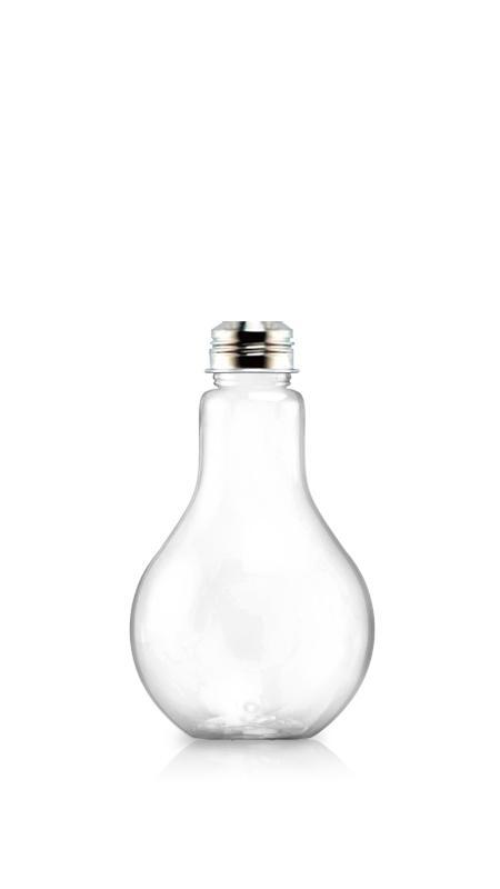 PET 38mm Series Bottles (LB500) - 510 ml Light Bulb Shape PET bottle for cool beverages packaging with Certification FSSC, HACCP, ISO22000, IMS, BV