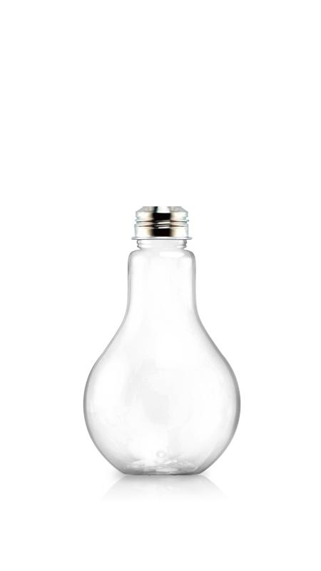 PET 38mm Series Bottles (LB500) - 510 ml Light Bulb Shape PET bottle for cool beverages packaging with Certification FSSC, HACCP, ISO22000, IMS, BV