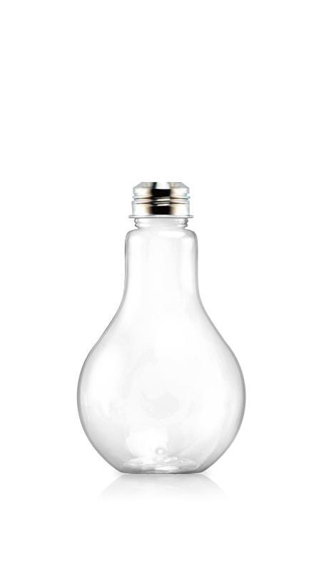 PET-Flaschen der 38-mm-Serie (LB660) - 670 ml PET-Flasche in Glühbirnenform für kühle Getränkeverpackungen mit Zertifizierung FSSC, HACCP, ISO22000, IMS, BV