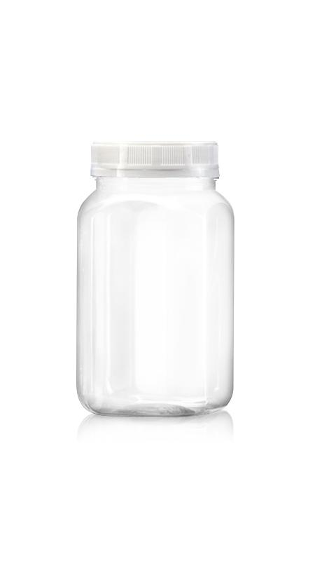 PET 63mm Series Wide Mouth Jar (B508)