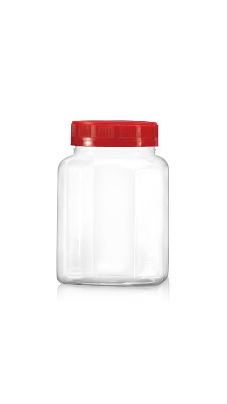 PET 63mm Series Wide Mouth Jar (B508N)