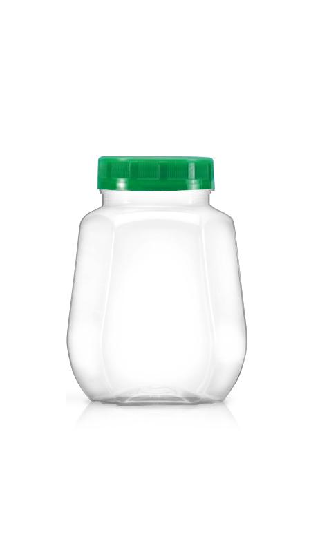 PET 63mm Series Wide Mouth Jar (B648)