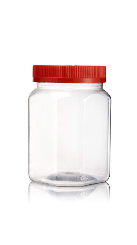 PET 70mm Series Wide Mouth Jar (PET120)
