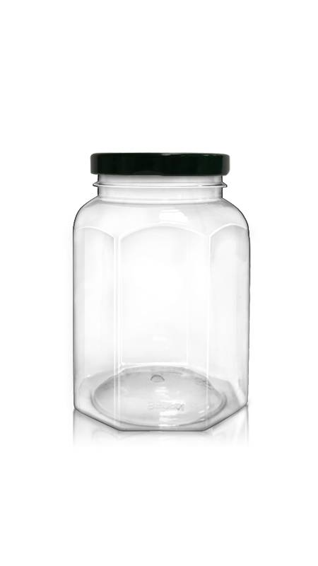 PET 63mm Series Wide Mouth Jar (WM508N)