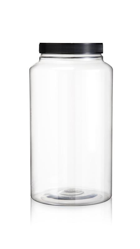 PET 120mm Series Wide Mouth Jar (J4800)