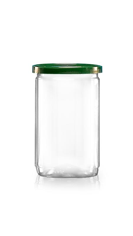 PET Aluminum / Plastic Easy Open Can (211-300) - Pet-Plastic-Bottles-Round-211-300