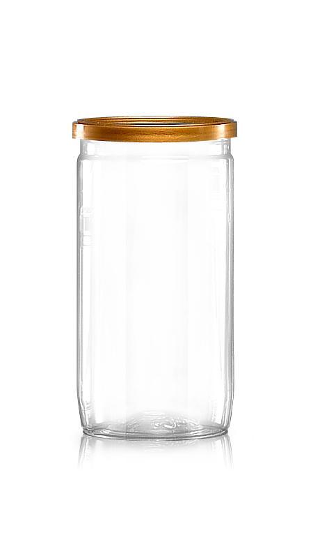 PET 鋁質/塑膠易開罐系列 (211-440) - Pet-Plastic-Bottles-Round-P211-440