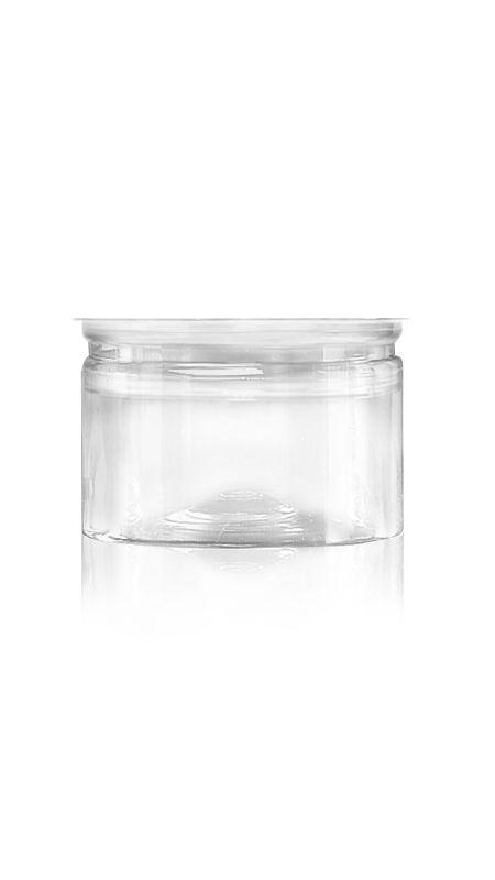 PET Aluminum / Plastic Easy Open Can (307-300-ASB) - Pet-Plastic-Bottles-Round-307-300