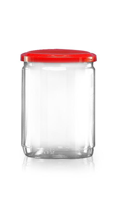 PET 鋁質/塑膠易開罐系列 (307-600) - Pet-Plastic-Bottles-Round-307-600
