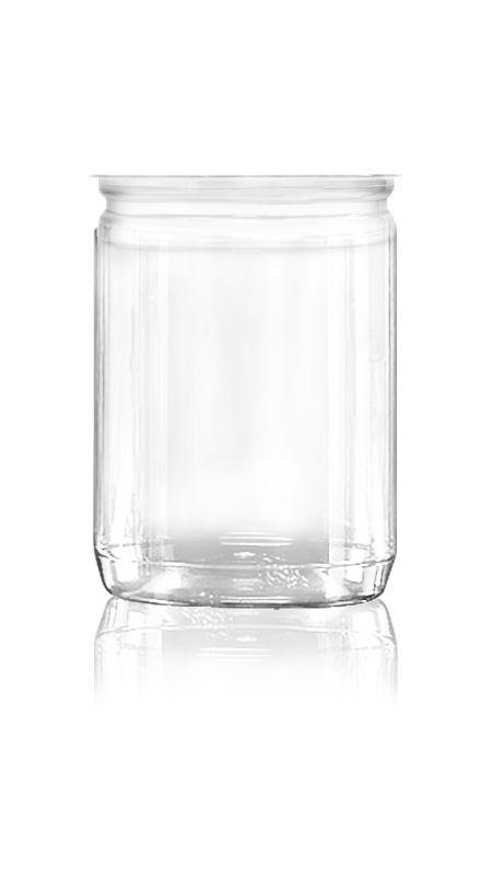 PET Aluminum / Plastic Easy Open Can (307-600-ASB) - Pet-Plastic-Bottles-Round-307-600