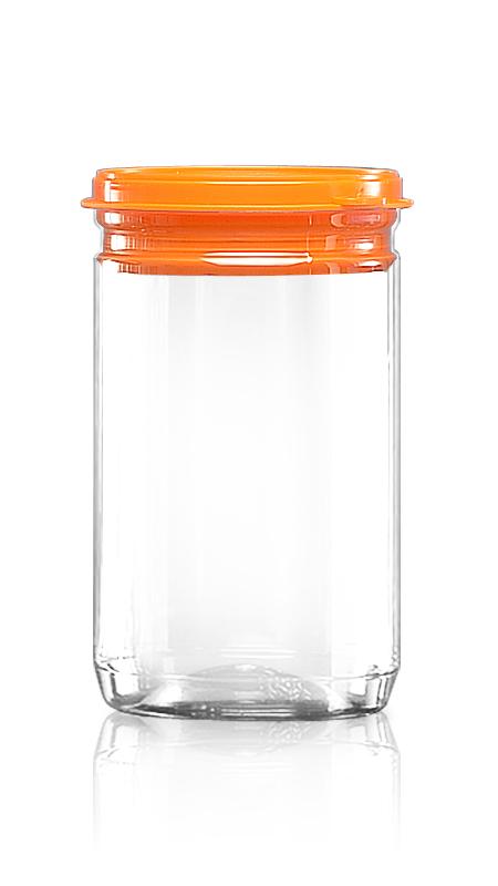 PET 鋁質/塑膠易開罐系列 (307-800P) - Pet-Plastic-Bottles-Round-307-825P