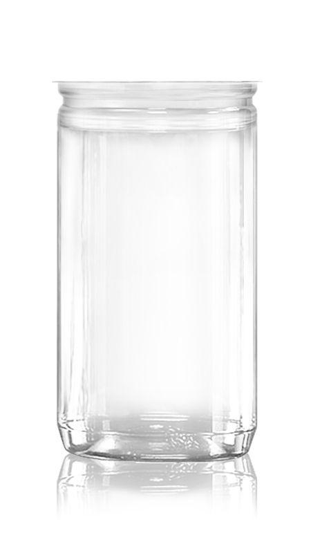 PET Aluminum / Plastic Easy Open Can (307-825-ASB) - Pet-Plastic-Bottles-Round-307-825