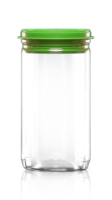 PET 鋁質/塑膠易開罐系列 (307-825P) - Pet-Plastic-Bottles-Round-307-825P