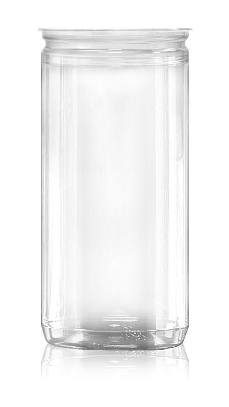 PET Aluminum / Plastic Easy Open Can (307-900-ASB) - Pet-Plastic-Bottles-Round-307-900