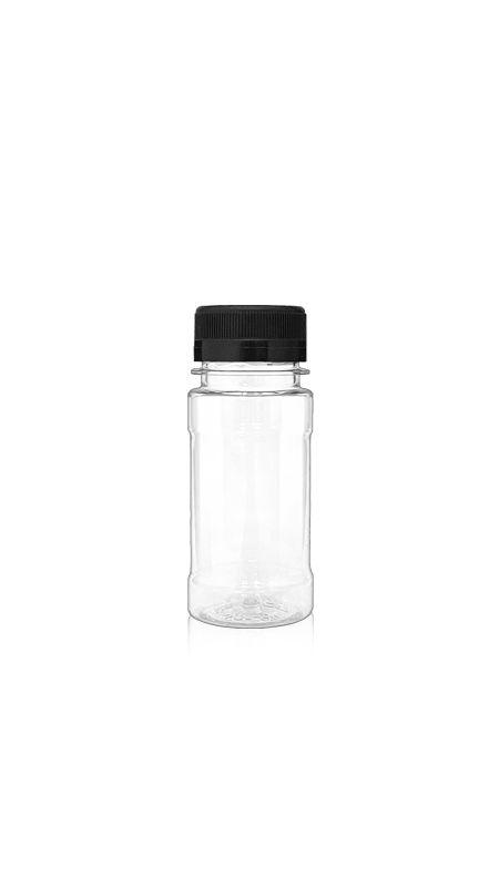 PET-Flaschen der 38-mm-Serie (38-105) - 115 ml PET-Flasche für kühle Getränkeverpackungen mit Zertifizierung FSSC, HACCP, ISO22000, IMS, BV