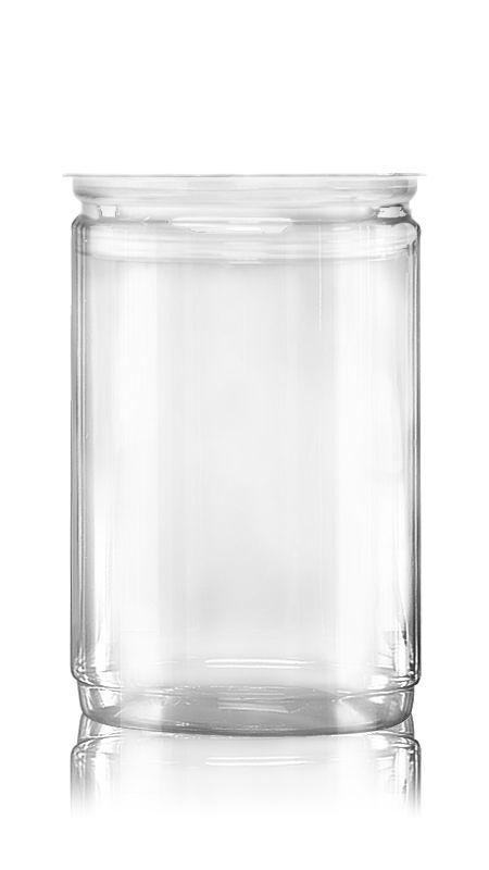 PET Aluminum / Plastic Easy Open Can (401-1060-ASB) - Pet-Plastic-Bottles-Round-401-1060