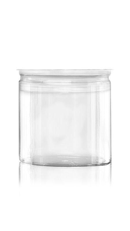 PET Aluminum / Plastic Easy Open Can (401-650-ASB) - Pet-Plastic-Bottles-Round-401-650