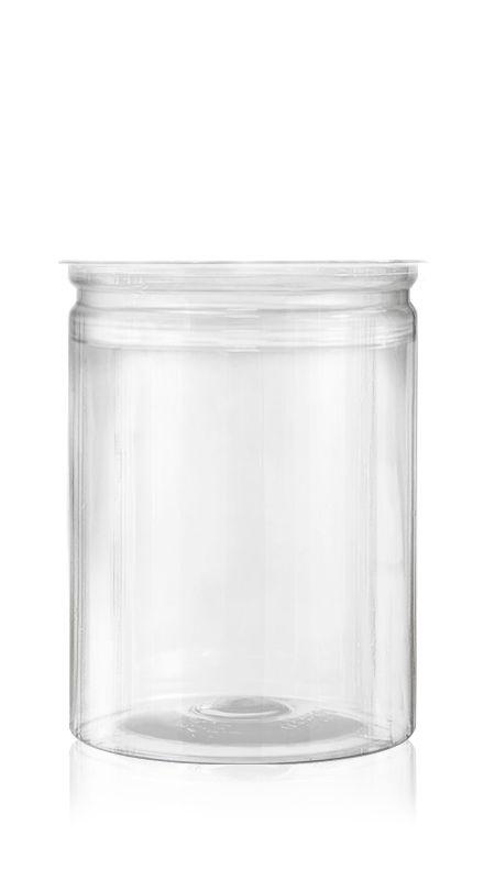 PET Aluminum / Plastic Easy Open Can (401-880-ASB) - Pet-Plastic-Bottles-Round-401-880