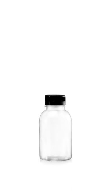 Sticle PET din seria 38mm (65-285) - Sticlă PET Boston Style de 285 ml pentru ambalarea băuturilor reci cu certificare FSSC, HACCP, ISO22000, IMS, BV