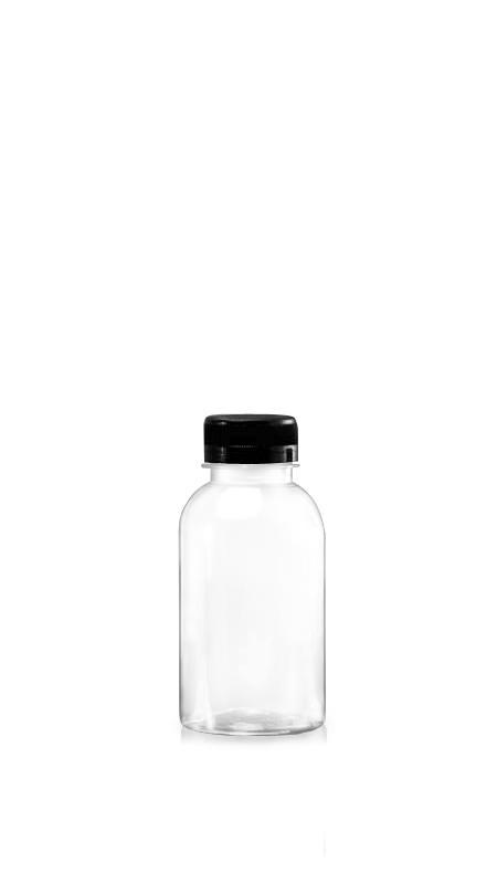 PET-Flaschen der 38-mm-Serie (65-300) - 315 ml PET Boston Style Flasche für kühle Getränkeverpackungen mit Zertifizierung FSSC, HACCP, ISO22000, IMS, BV