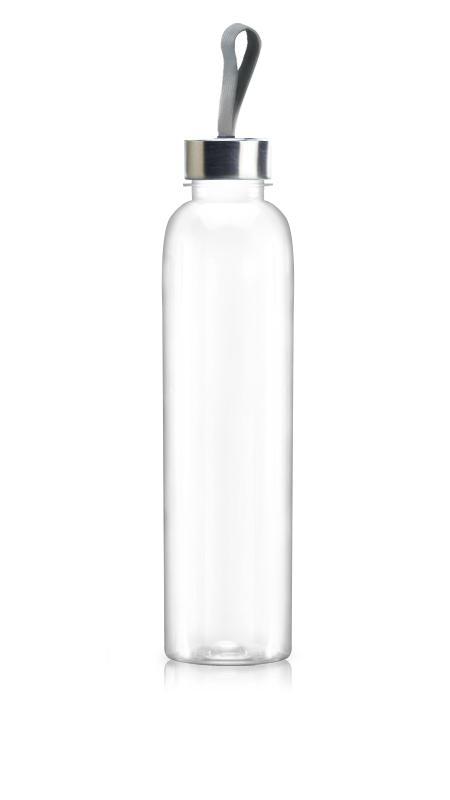 Sticle PET 38mm (65-660) - Sticlă PET Boston Style de 660 ml pentru ambalarea băuturilor reci cu certificare FSSC, HACCP, ISO22000, IMS, BV
