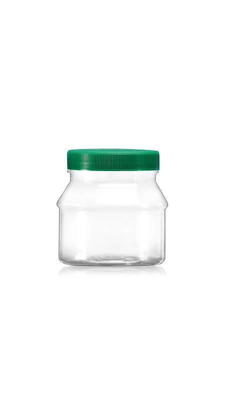 PET 63-mm-Serie Weithalsdose (A240) - 201 ml PET Rundglas mit Zertifizierung FSSC, HACCP, ISO22000, IMS, BV