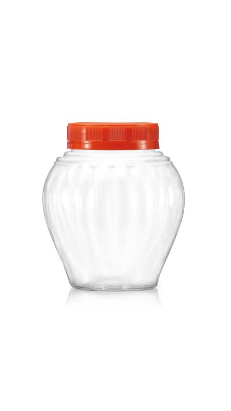 PET 63mm Series Wide Mouth Jar (B490)