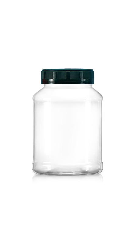 PET 63mm Series Wide Mouth Jar (B580)