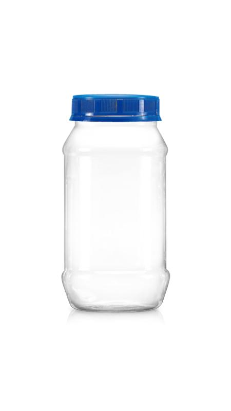 PET 63mm Series Wide Mouth Jar (B600)