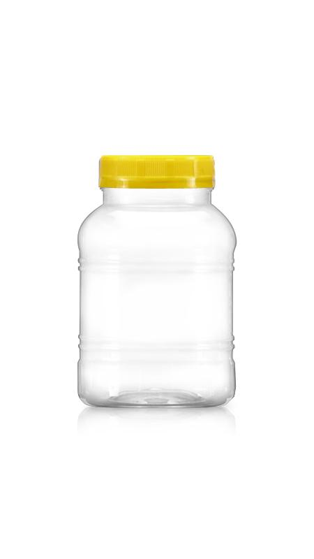 PET 63mm Series Wide Mouth Jar (B600N)